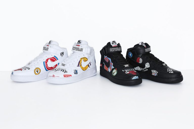 Supreme x Nike Air Force 1 Mid 07 NBA - Sneakers