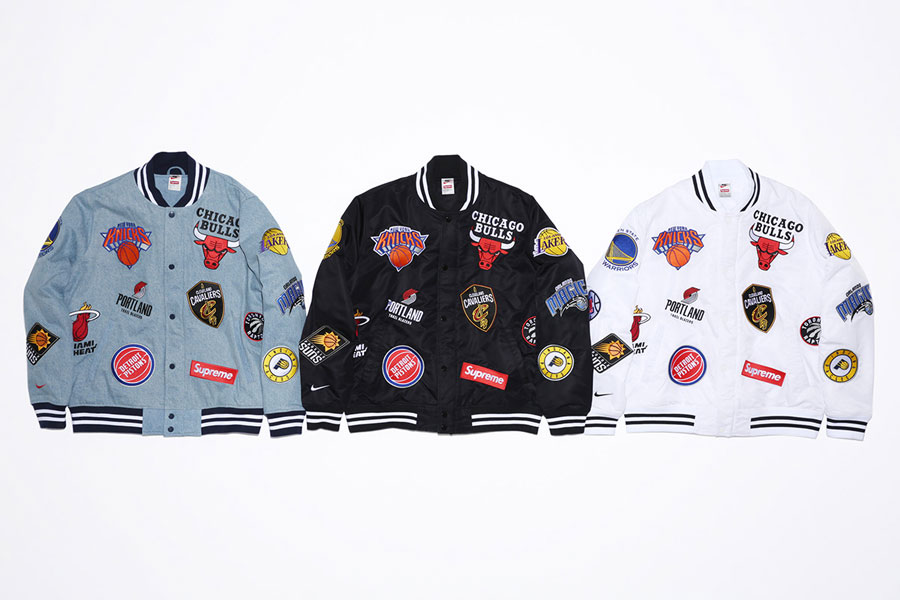 Supreme x Nike Air Force 1 Mid 07 NBA - Warm-Up Jackets