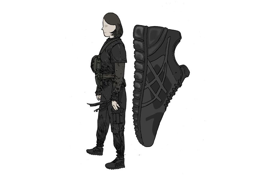 Techwear Sneakers - ASICS Quantum 360 Knit