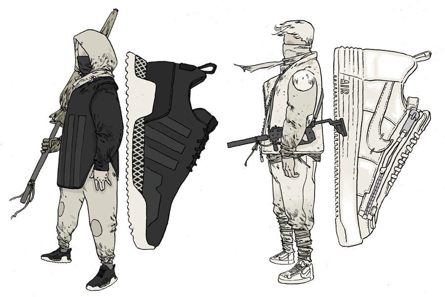 Techwear Sneakers - The Tech Era
