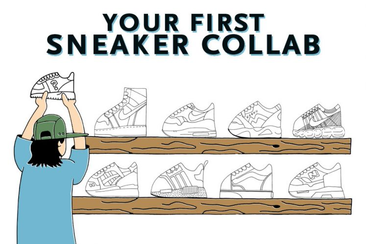 Your First Sneaker Collab Title