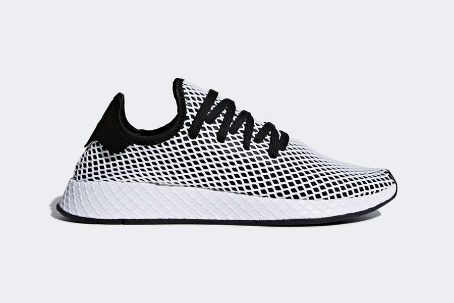 adidas Deerupt (CQ2626 Core Black Ftwr White) - Side