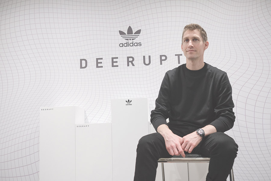 adidas Deerupt - Vice President of Product Footwear Morgan Boeri (Interview) - Title