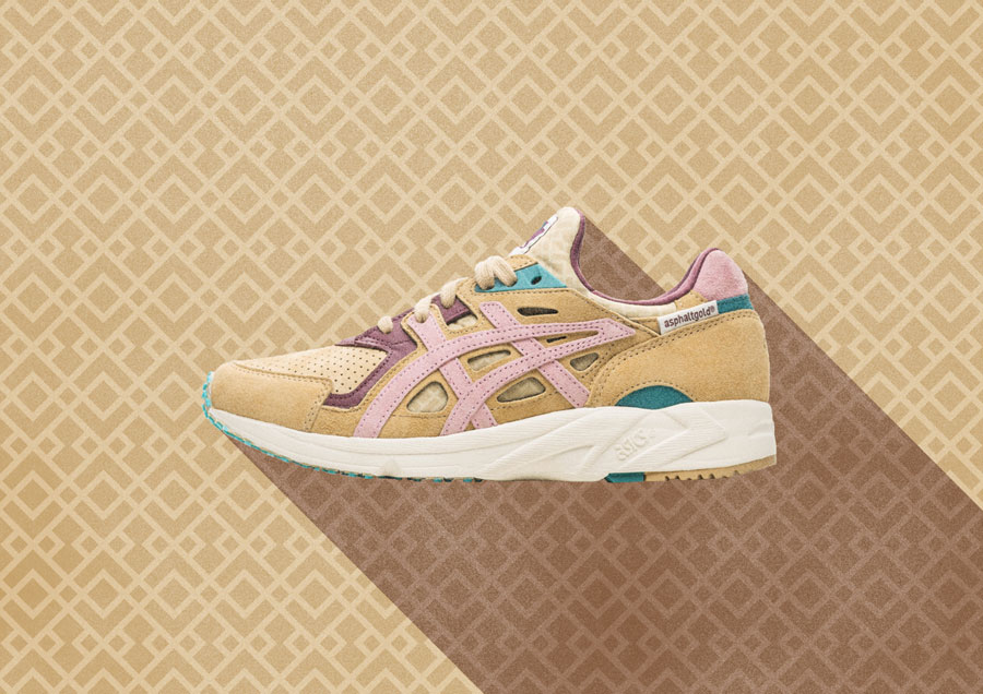 asphaltgold x ASICS Gel-DS Trainer OG Jugendstil - Mood 1
