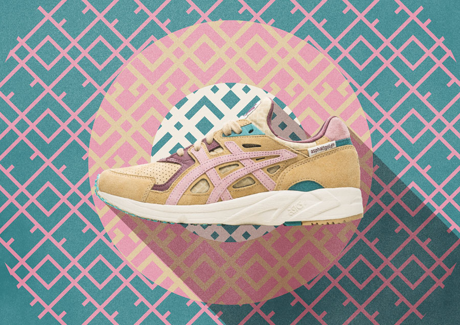 asphaltgold x ASICS Gel-DS Trainer OG Jugendstil - Mood 2