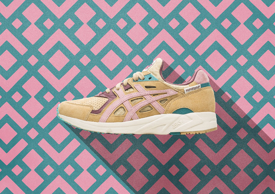asphaltgold x ASICS Gel-DS Trainer OG Jugendstil - Mood 3