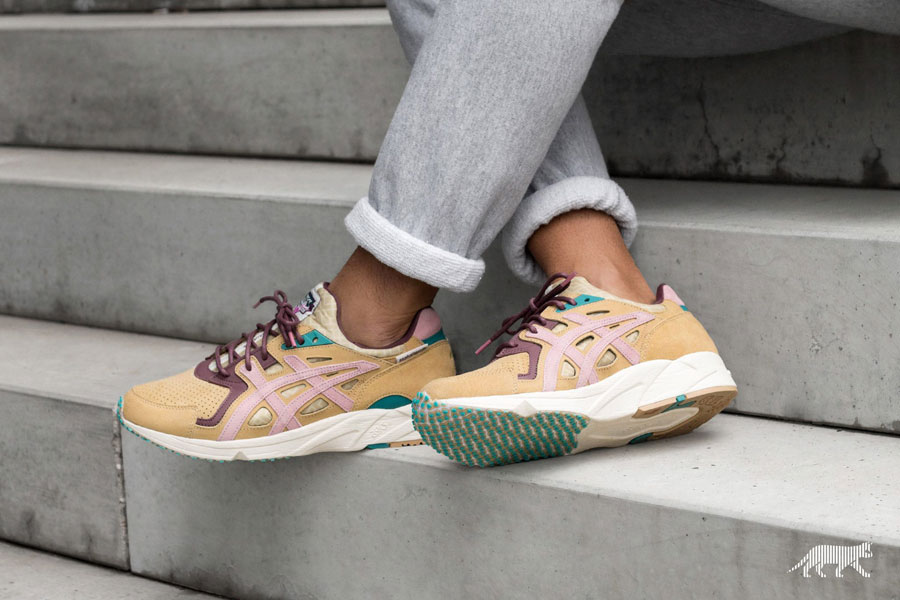 asphaltgold x ASICS Gel-DS Trainer OG Jugendstil - On feet