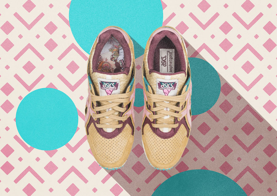 asphaltgold x ASICS Gel-DS Trainer OG Jugendstil - Top