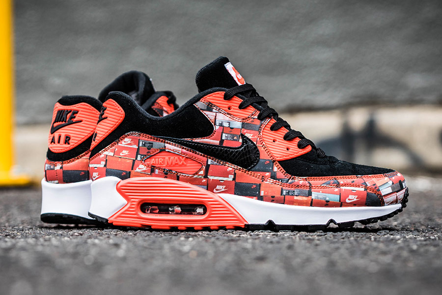 atmos x Nike Air Max 90 - WE LOVE NIKE Pack