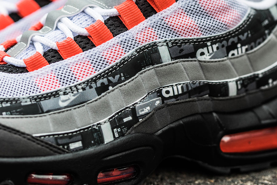 95b663367fbd atmos x Nike Air Max 95 - WE LOVE NIKE Pack (Detail)