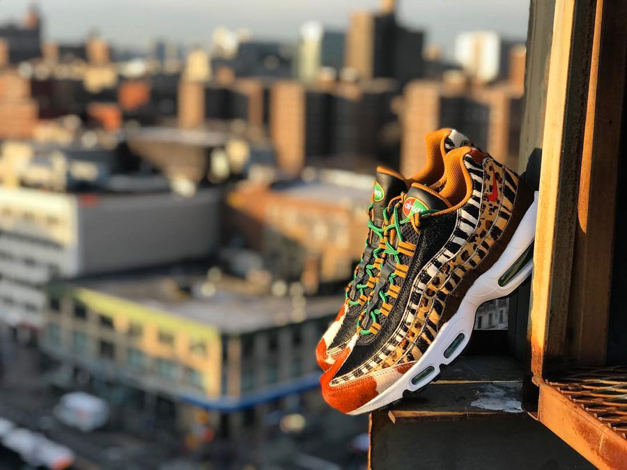 uk availability a05e8 97552 atmos x Nike Air Max Animal Pack 2018 - Air Max 95