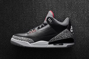 Best Sneakers of February 2018 - Air Jordan 3 Retro OG Black Cement