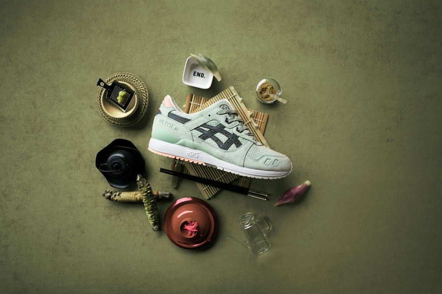 END x ASICS GEL-LYTE III Wasabi - Right
