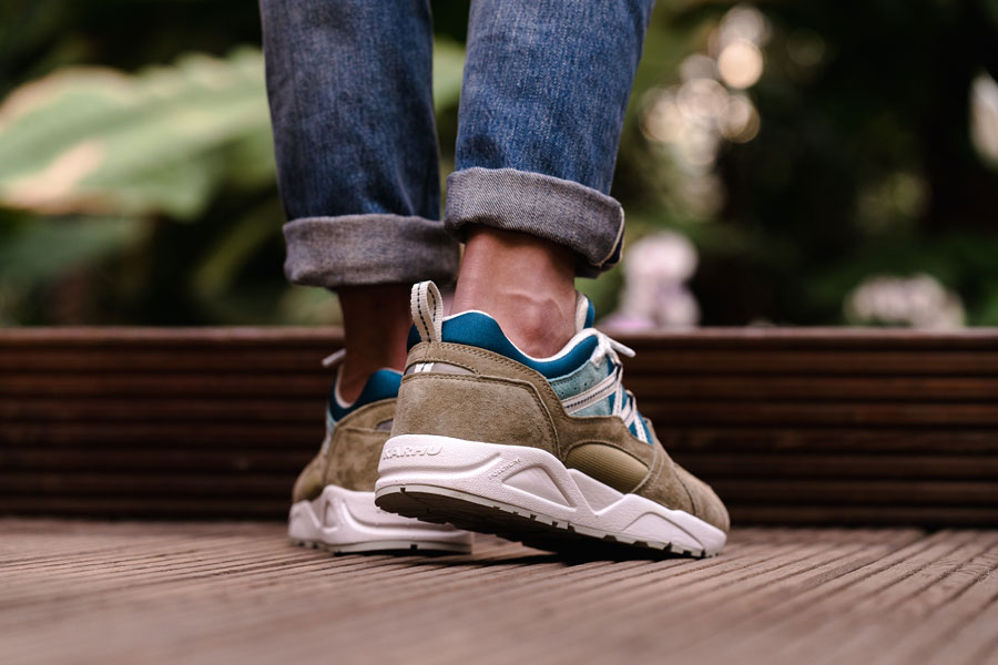 Karhu Linnut Pack Fusion 2 0 (F804030 - Boa Blue Coral) - On feet (Back)