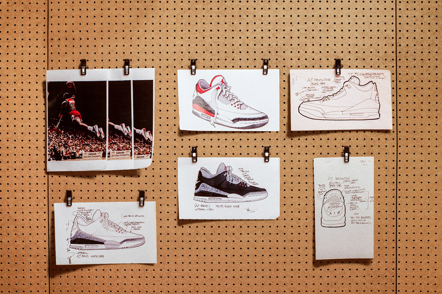 Nike Air Jordan 3 Tinker Hatfield - Design Mood (No Swoosh)