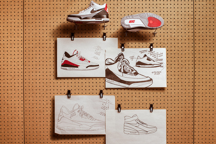 Nike Air Jordan 3 Tinker Hatfield - Design Mood (Versions)