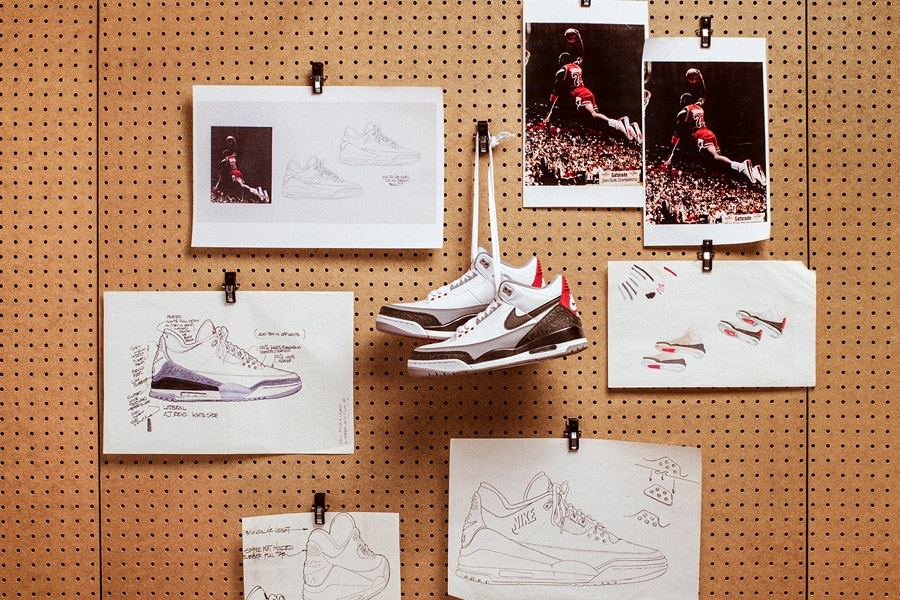 Nike Air Jordan 3 Tinker Hatfield - Design Mood
