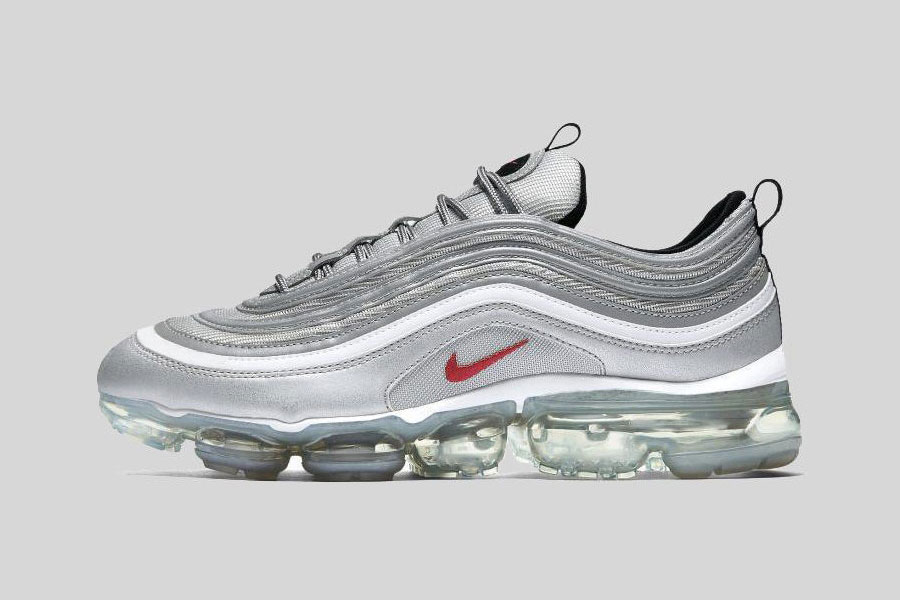 "Nike Unveils the Air VaporMax 97 ""Silver Bullet"""