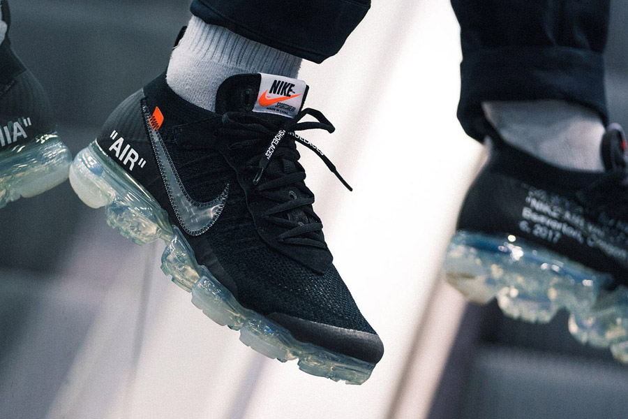 41f07c88d64 Where to Cop the Black OFF-WHITE x Nike Air VaporMax