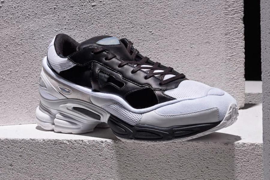 Raf Simons x adidas Ozweego Replicant (B22512 Black Cream White)