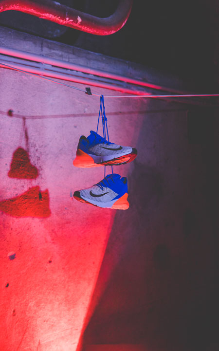 SHOTS IN THE AIR Sneaker Photography Contest - Gianni