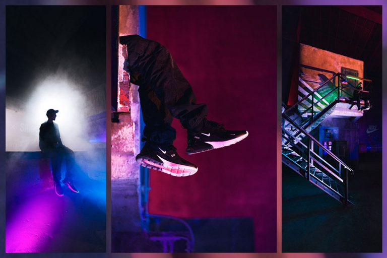 SHOTS IN THE AIR Sneaker Photography Contest - Top 3
