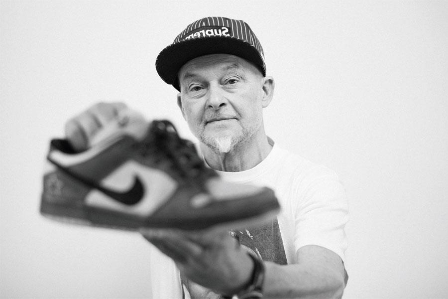 68-Year Old Supreme Head Thomas Helgert from Germany - Heineken Dunk
