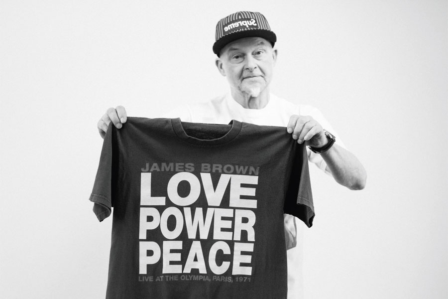 68-Year Old Supreme Head Thomas Helgert from Germany - James Brown T-Shirt