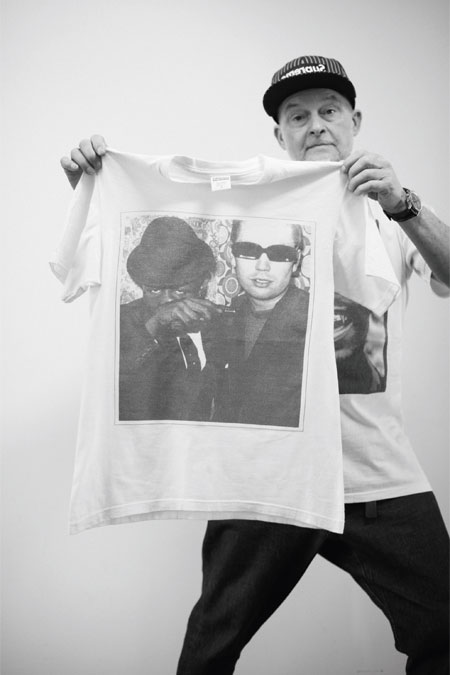 68-Year Old Supreme Head Thomas Helgert from Germany - Photo T-Shirt