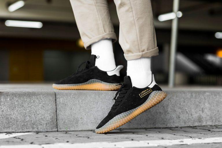 adidas Kamanda Core Black (CQ2220) - On feet