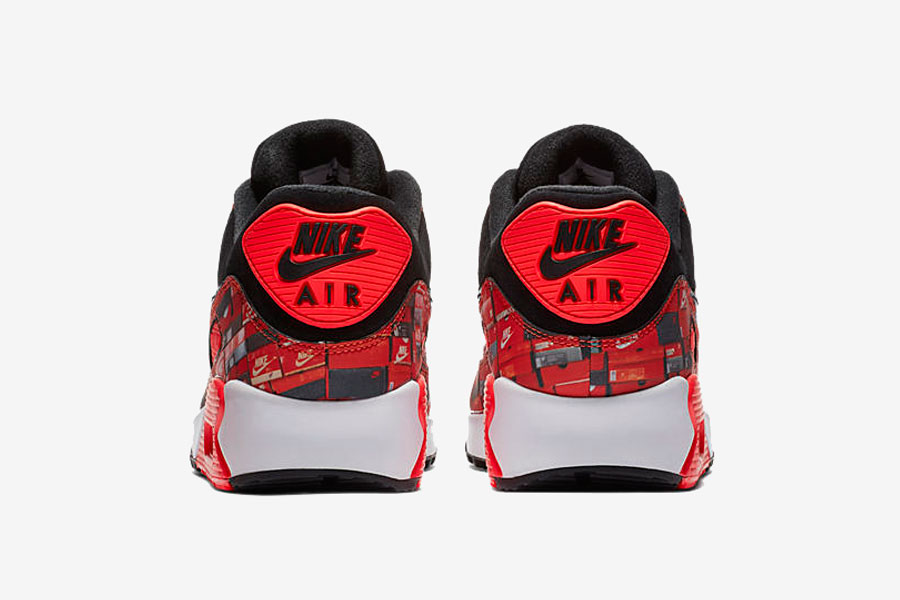 atmos x Nike Air Max 90 WE LOVE NIKE Pack (AQ0926-001) - Back
