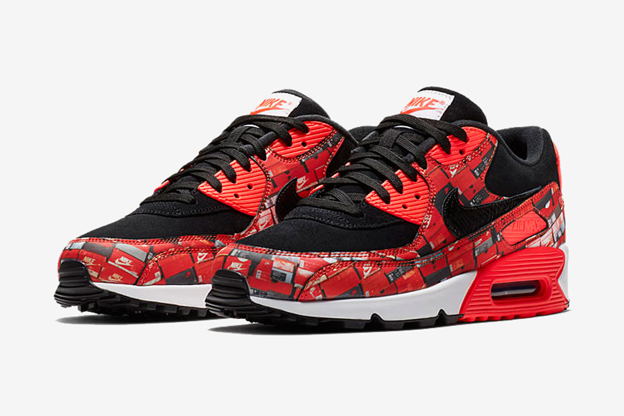 atmos x Nike Air Max 90 WE LOVE NIKE Pack (AQ0926-001)