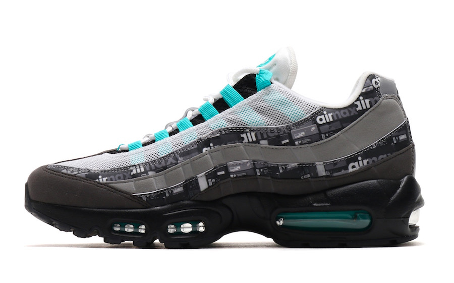 atmos x Nike Air Max 95 Jade (AQ0925-001) - Left
