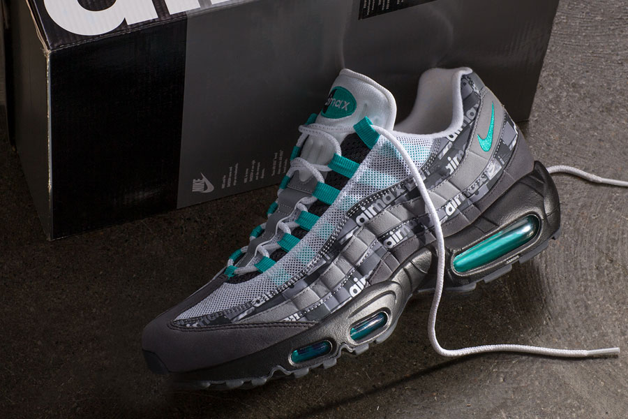 atmos x Nike Air Max 95 Jade WE LOVE NIKE Pack (AQ0925-001) 2b3dadd26