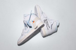 Best Sneakers of March 2018 - OFF-WHITE x Nike Air Jordan 1 (White)
