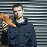 Collector Nic Hayman - Reebok Workout Goretex Orange