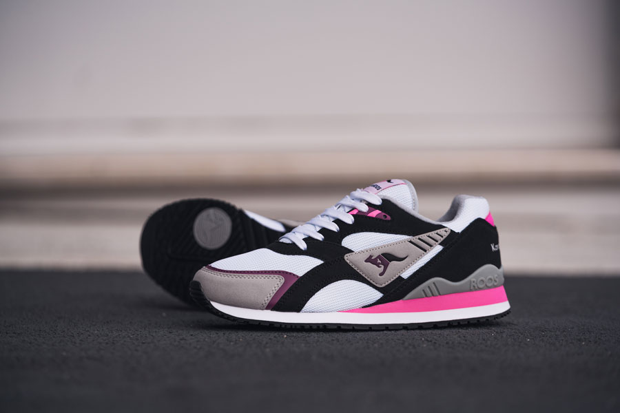 KangaROOS 2018 Spring Summer 2nd Drop - RUNNER OG Black Pink