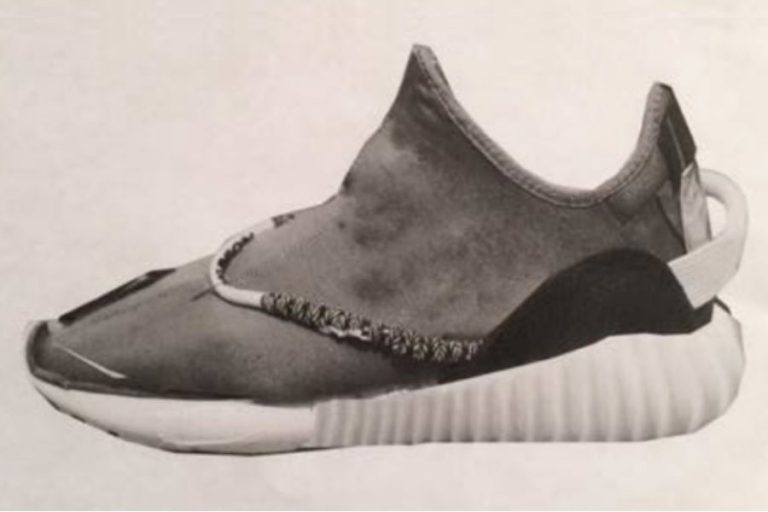 Kanye West shares early adidas YEEZY BOOST 350 Photoshop design