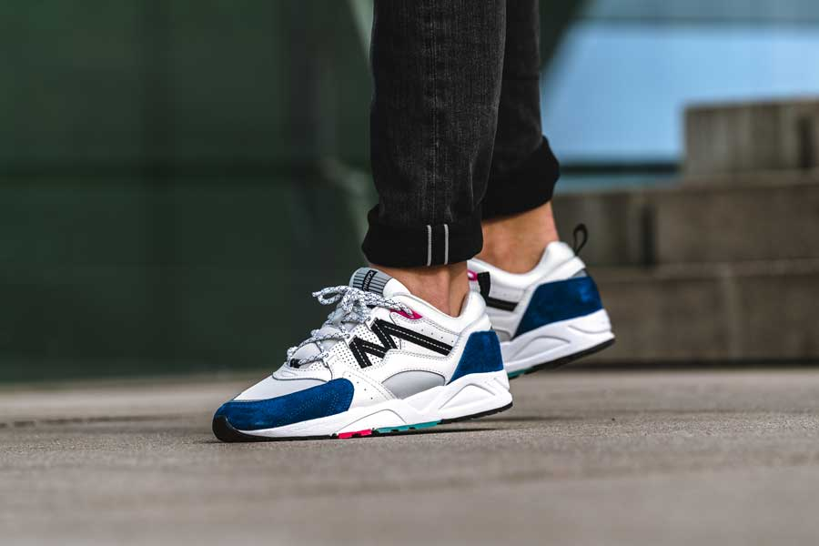 Karhu Fusion 2.0 Summer Pack Deep Cobalt Black (F804028) - On feet