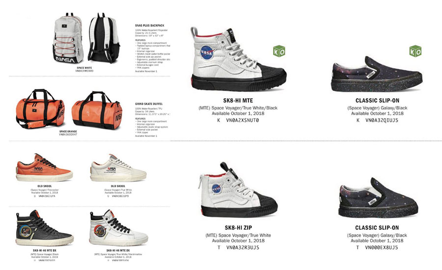 Vans Space Voyager Nasa Sneakers Sk8 hi 46 In Leather With