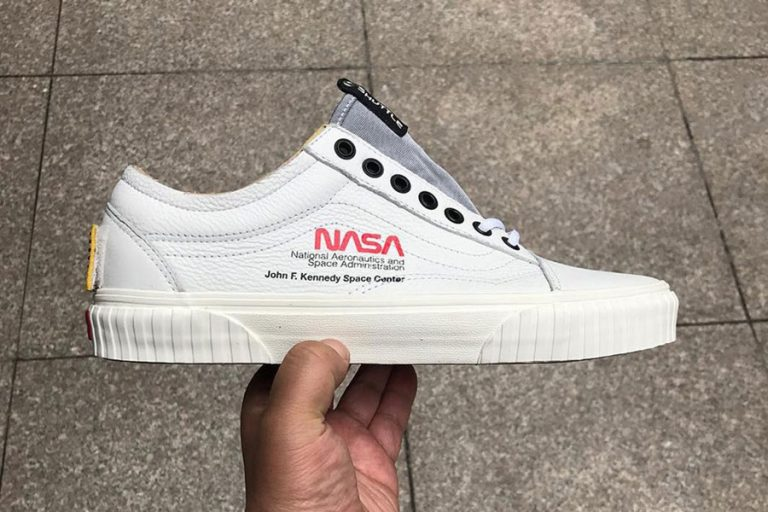 NASA x VANS Space Voyager - Old Skool (True White)