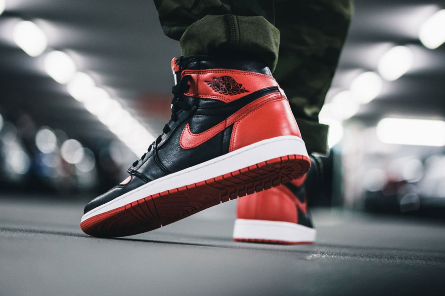 Air Jordan 1 Homage To Home (861428-061) - On feet (Back)