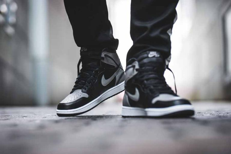 Nike Air Jordan 1 Retro High OG Shadow (555088-013) - On feet