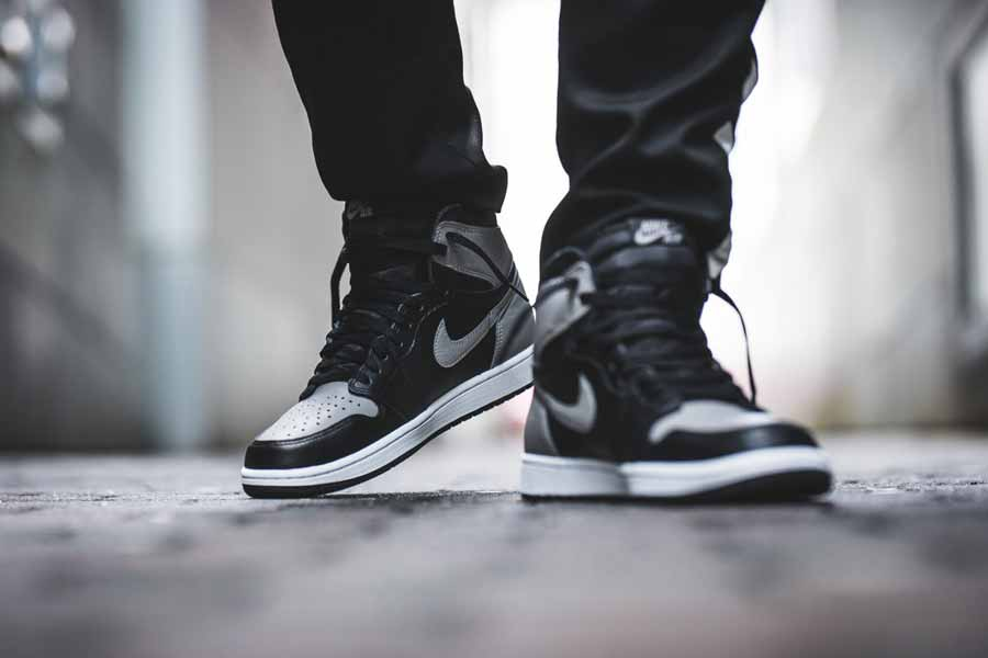"sports shoes c0625 07dc9 An On-Feet Look at the Air Jordan 1 OG ""Shadow"""