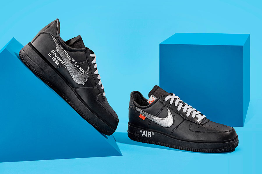 OFF-WHITE x Nike 2018 Releases - Air Force 1 '07 MoMA (AV5210-001)