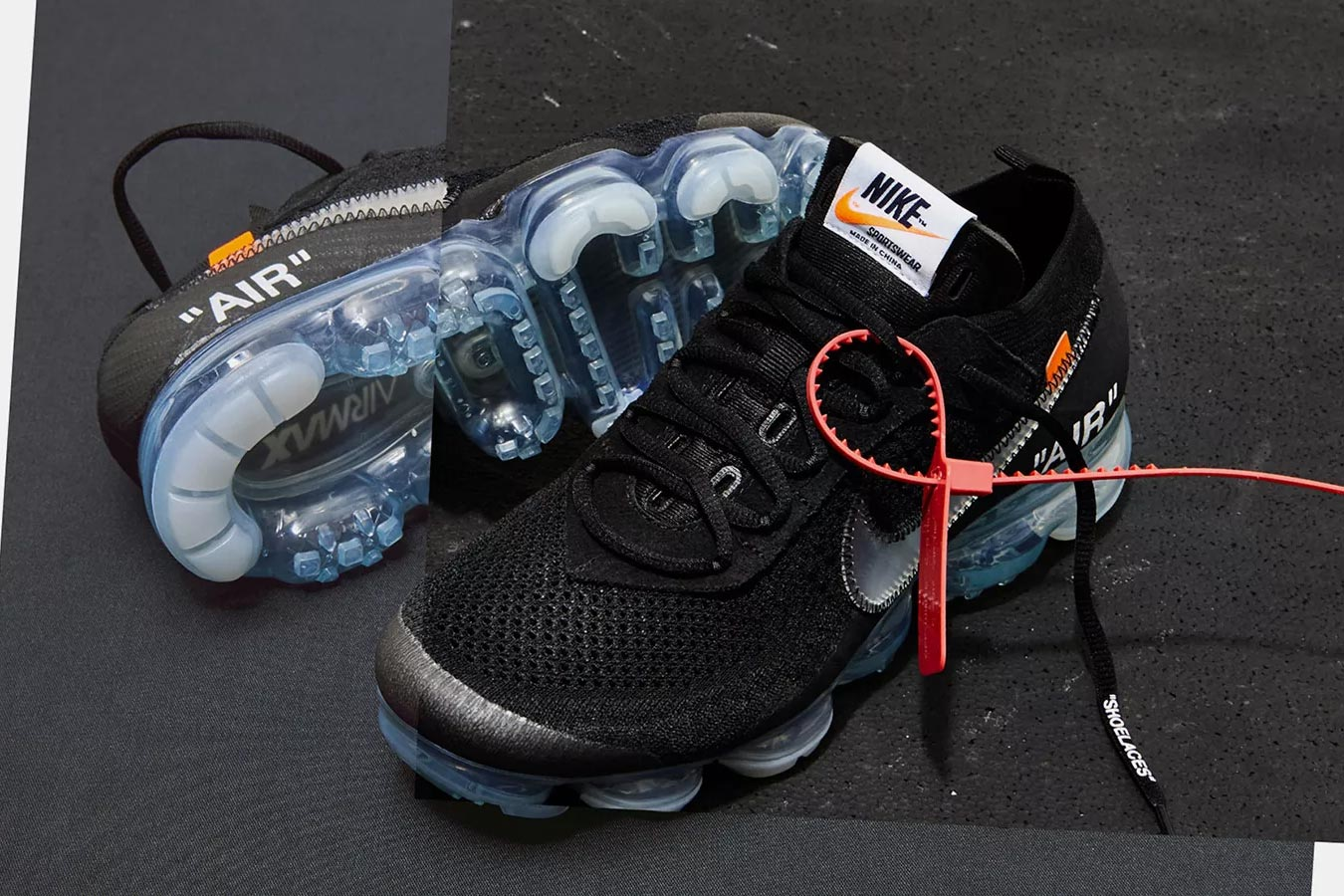 OFF-WHITE x Nike 2018 Releases - Air VaporMax Black (AA3831-002)