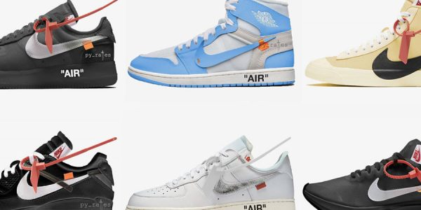 OFF-WHITE x Nike – 2018 Release Overview