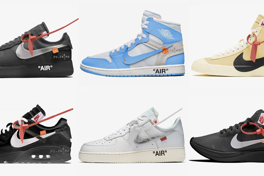 best website aa852 fe7a6 OFF-WHITE x Nike – 2018 Release Overview