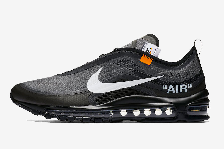OFF-WHITE x Nike Air Max 97 Black (AJ4585-001)