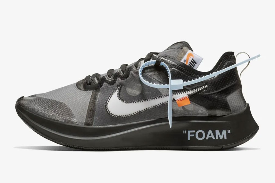 OFF-WHITE x Nike Zoom Fly Black (AJ4588-001)